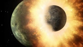 protoplanetary impact