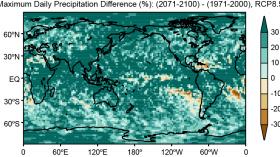 Max Daily Precipitation Difference