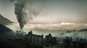 china cement factory smoke