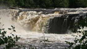 Pigeon River Middle Falls