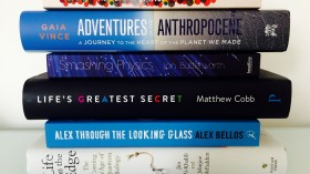 Topics of science books up for a $39,000 prize in the U.K. include cracking the genetic code as a thriller; CERN's underground bunker; and research globe treks.