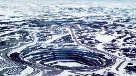 Diamond mine in Canada.