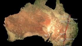 Volcanic Chain in Australia