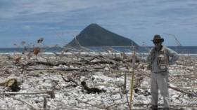 Tsunami devastation in Tonga in 2009