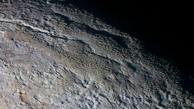 snake scales on pluto