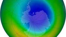 Area of ozone hole