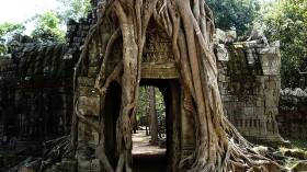 Angkor Wat, in Cambodia