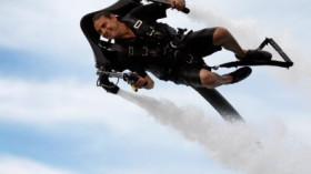 Miami Yacht And Brokerage Show Features 'JetLev - Flyer' : News Photo CompEmbedShareAdd to Board Miami Yacht And Brokerage Show Features 'JetLev - Flyer'