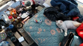 Sacramento Tent City Fills Up Jobless And Homeless