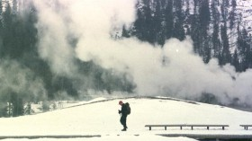 Snowmobilers Ride At Yellowstone National Despite Environmentalists Opposition