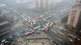 Air pollution and traffic