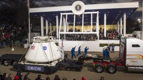 Inaugural Parade Held After Swearing In Ceremony