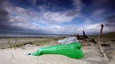 Plastic Litters In UK Beaches