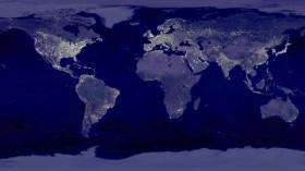 Earth's City Lights at Night