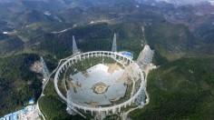 World's Largest Radio Telescope Under Construction