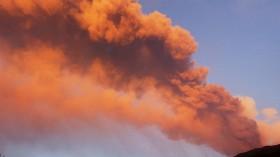 Sicily's Mount Etna Volcano Erupts