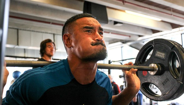 New Zealand All Blacks Wider Squad Training Camp