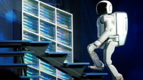 ASIMO Robot Is Introduced In New York