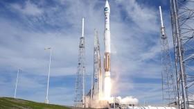 Atlas V rocket carrying NASA's Solar Dynamics Observatory
