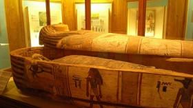 Albany Museum Grahamstown (RSA), egyptian mummy (Schönland collection)