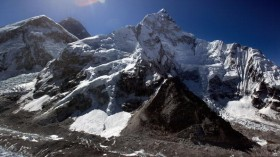 The melting of the Himalayan glaciers have created huge glacial lakes that pose an active threat to surrounding mountain communities