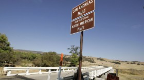 San Andreas Fault is the one of the active faults in Southern California