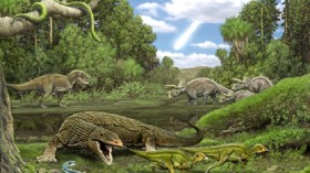 dinosaur aseteroid