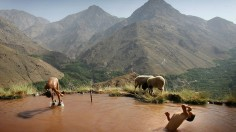 Moroccan Mountains near desert can be source of potable water