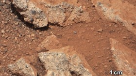 NASA's Curiosity Rover Captures Remnants Of Ancient Streambed On Mars