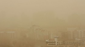 China Prepares For Spring Sand Storms