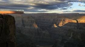 Grand Canyon's New 'Skywalk' Opens With Grand Ceremony