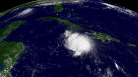 Tropical Storm Charley Makes Its Way Towards The Gulf Of Mexico