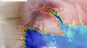 ESA's Mars Express Returns Images Of Echus Chasma