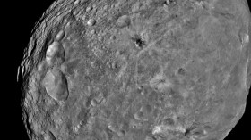 NASA's Dawn Spacecraft Sends back Pictures Of Vesta Asteroid