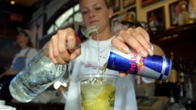 vodka and red bull