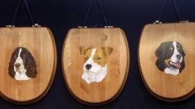 animal toilet seats