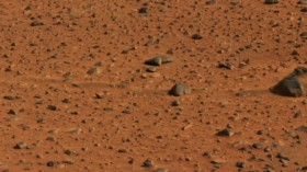 First Color Pictures Of Mars Rover Released