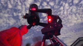 Californians View Mars in Orange County's Foothills
