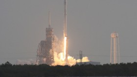 SpaceX Launches A Falcon 9 Rocket Equipped With Secretive Payload For The National Reconnaissance Office