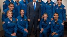 U.S. Vice President Mike Pence Introduces 2017 Astronaut Class