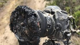 NASA Photographer's Burnt Camera