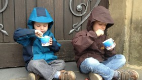 Children Eating Sweets