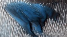 Martian Blue Dune