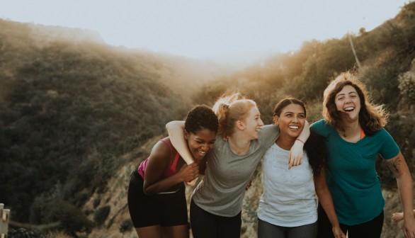 Women bones healthy