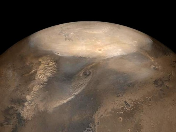 Dust Storms on Mars (IMAGE)