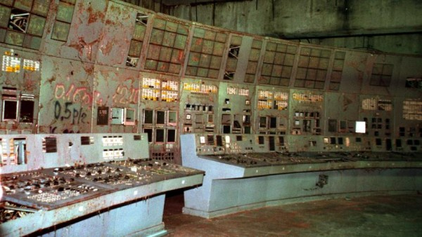 Chernobyl's control room