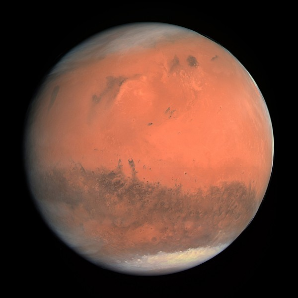 Meteorites reveal that Martian water came from different sources
