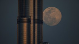 Super Pink Moon Shines Biggest and Brightest This Year, Stunning Stargazers