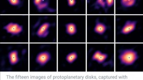 Rare Images of Planet-Forming Disks Captured by Astronomers