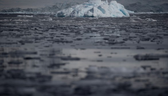 The South Pole Warming Very Quickly, and The Reason Why is Complicated